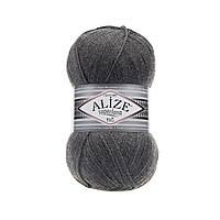 Пряжа Superlana Tig Alize 182 средне-серый меланж (Суперлана Тиг Ализе)