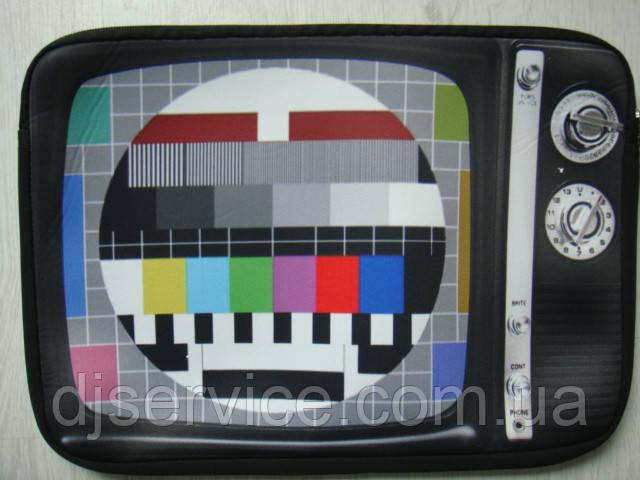 Сумка для ноутбука DJ с изображением Retro телевизора