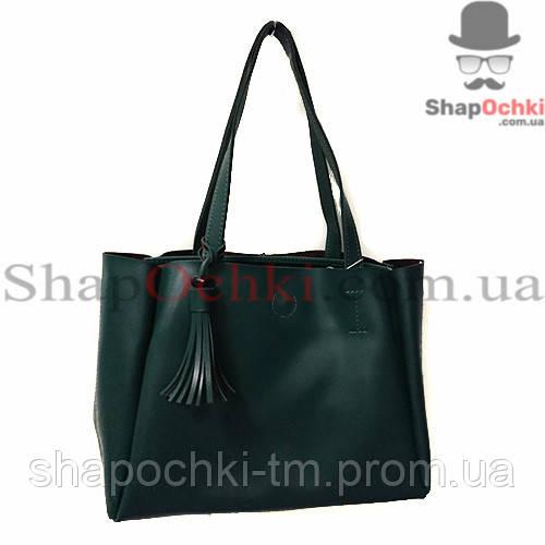 f44885f22e0d Купить сейчас - Сумка женская WALLABY 740461, зеленая, экокожа: 595 ...