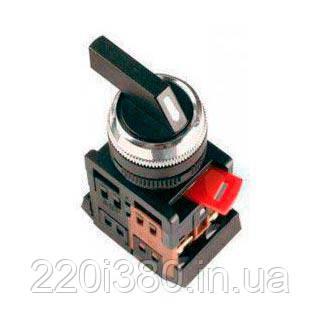 Переключатель ALC-22 черный с длин. ручкой на 2 фикс.положения I-O 1з+1р ИЭК
