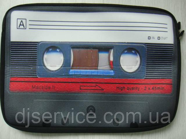 Сумка для ноутбука DJ с изображением Retro кассеты