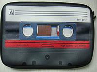 Сумка для ноутбука DJ с изображением Retro кассеты, фото 1