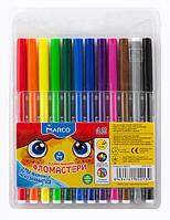 Фломастеры смываемые Marco Super Washable 12 цветов 1690-12 FM