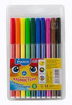 Фломастеры смываемые Marco Super Washable 10 цветов 1690-10 FM
