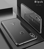 Прозрачный Чехол для Xiaomi Mi 8 black