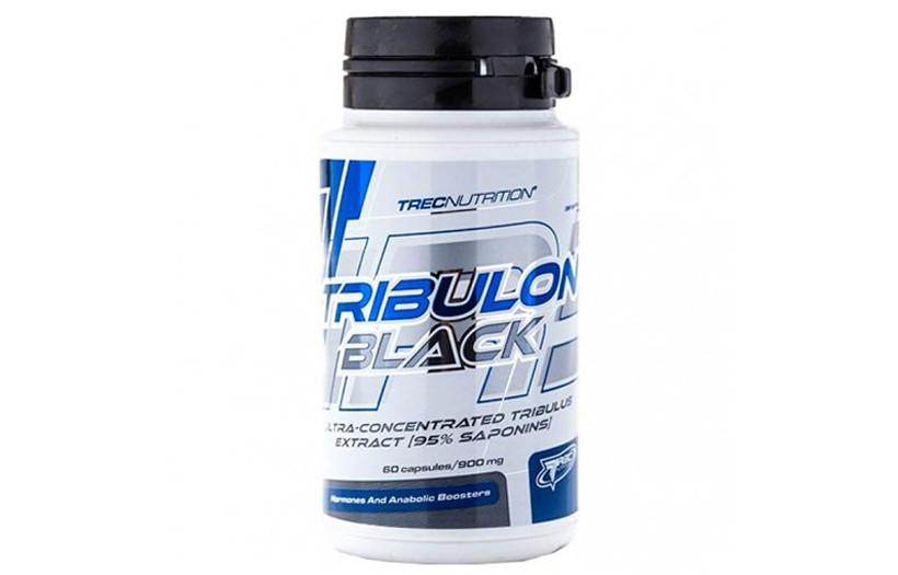 Тестостероновый бустер TREC nutrition Tribulon Black (95% SAPONINS) caps 60.