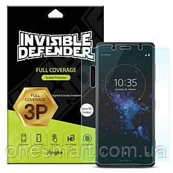 Защитная пленка Ringke Full Cover для Sony Xperia XZ2 Compact (набор 3 шт.)