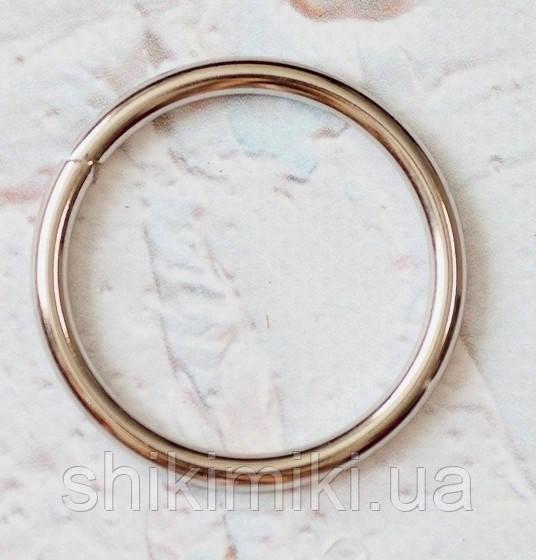 Кольца соединительные KL80-1 (80 мм), цвет никель