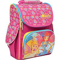 Ранець (рюкзак) - каркасный школьныйдля девочки Фея Винкс, H-11 Winx, 552759