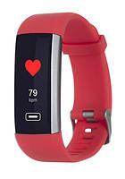 Смарт браслет ERGO Smart FIT BAND (bluetooth)watch HR BP F010(red) New 2018 Гарантия!+ВІДЕО Спортивные часы
