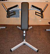Хаммер сидя, силовая скамья ( рычажный жим ) (Проф серия, для зала), фото 2