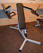 Хаммер сидя, силовая скамья ( рычажный жим ) (Проф серия, для зала), фото 3