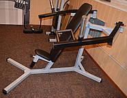 Хаммер сидя, силовая скамья ( рычажный жим ) (Проф серия, для зала), фото 5