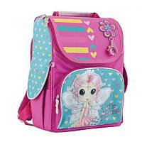 Ранец (рюкзак) - каркасный школьныйдля девочки розовый Принцесса Фея, H-11 Рrincess, 553277