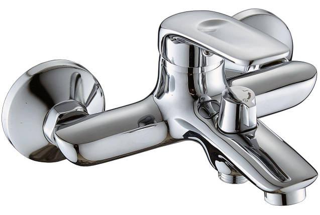 Смеситель для ванны Globus Lux KOLN GLK-102N, душевой комплект, фото 2