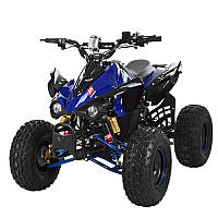 Квадроцикл HB-EATV 1000Q2-4, мотор-дифференциал 1000W, 4 аккумулятора 20A/12V, музыка, USB, SD, синий