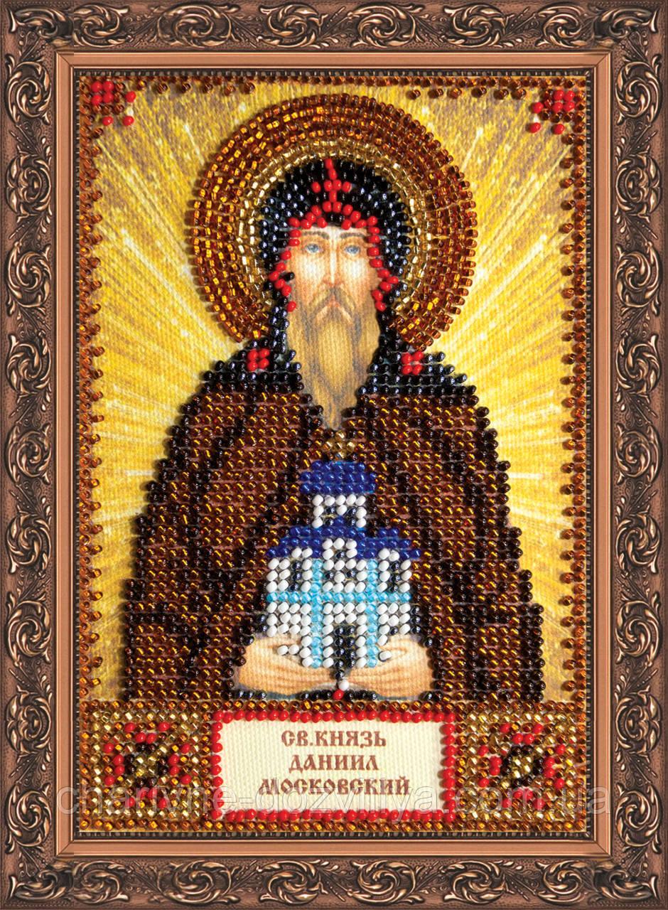 Набор для вышивки бисером икона Святой Даниил