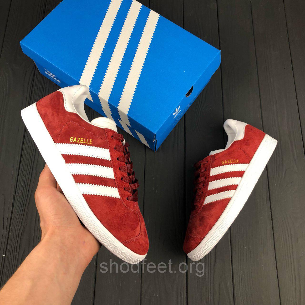 Женские кроссовки Adidas Gazelle Boost Red