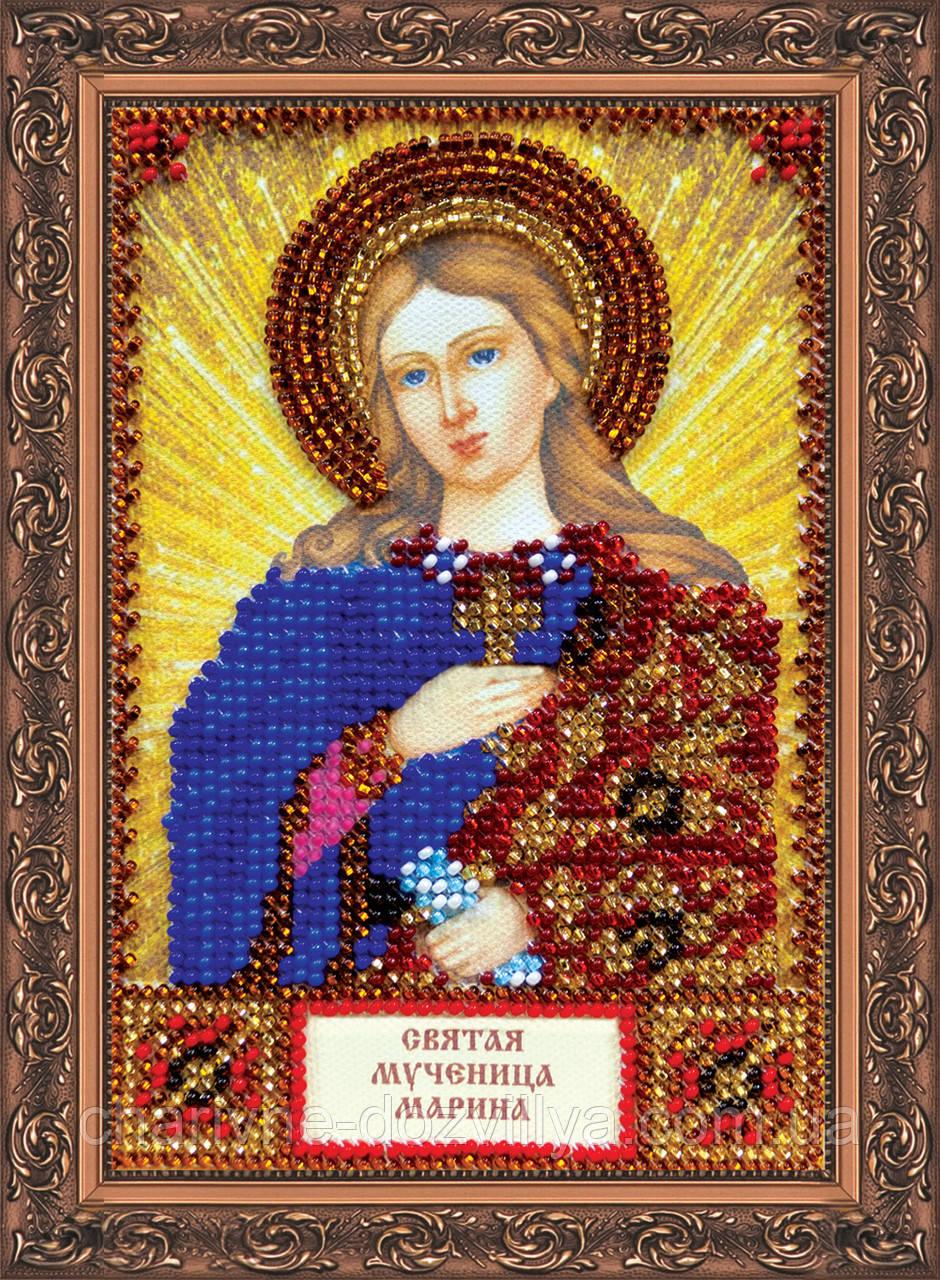 Набор для вышивки бисером икона Святая Марина