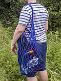 Авоська - Сумка на плечо - Пляжная сумка - Спортивная сумка - Хлопковая сумка, фото 3
