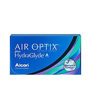 SALE! Контактная линза (-4.5)Air Optix Hydra Glyde