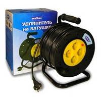 Электрический удлинитель на катушке SVITTEX  2*1,5 SV-007 50м