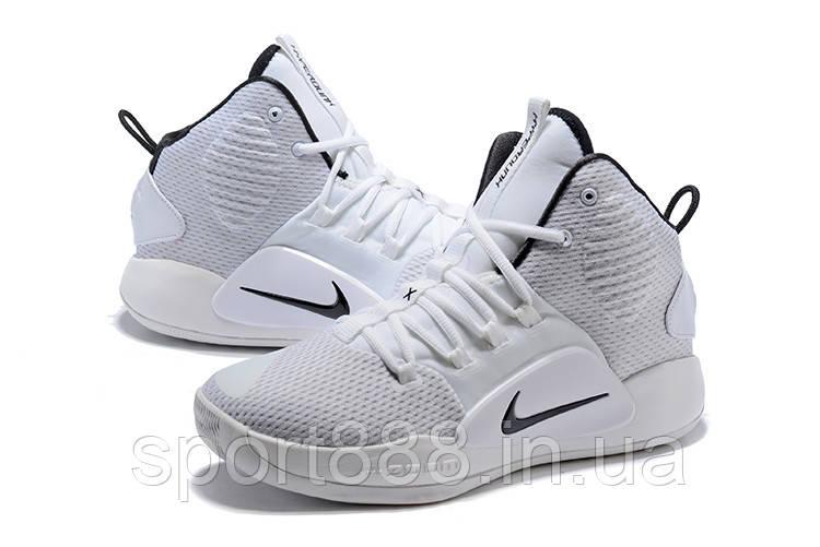 cfbe10f5 Белые Nike Hyperdunk X 2018 White/Black мужские кроссовки - sport888 в  Николаеве