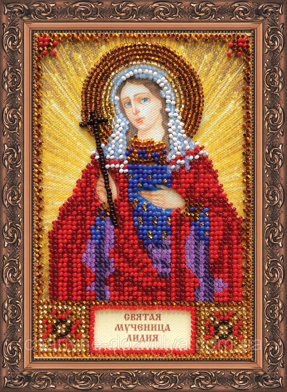 Набор для вышивки бисером икона Святая Лидия