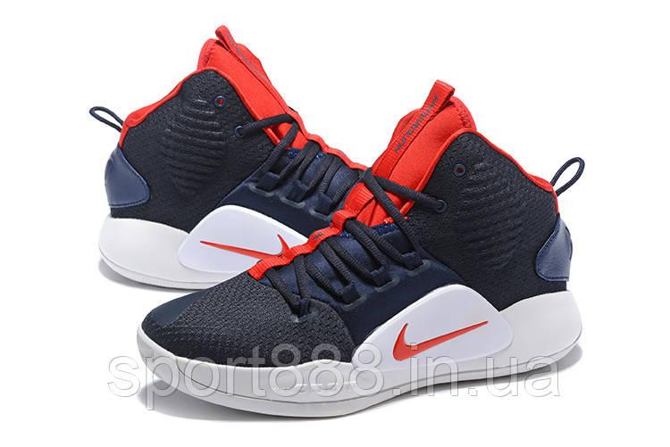 a87d0197c Темносине-красные Nike Hyperdunk X 2018 мужские кроссовки - sport888 в  Николаеве