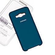 Силиконовый чехол на Samsung J5 510 (2016) Soft-touch Forest Green