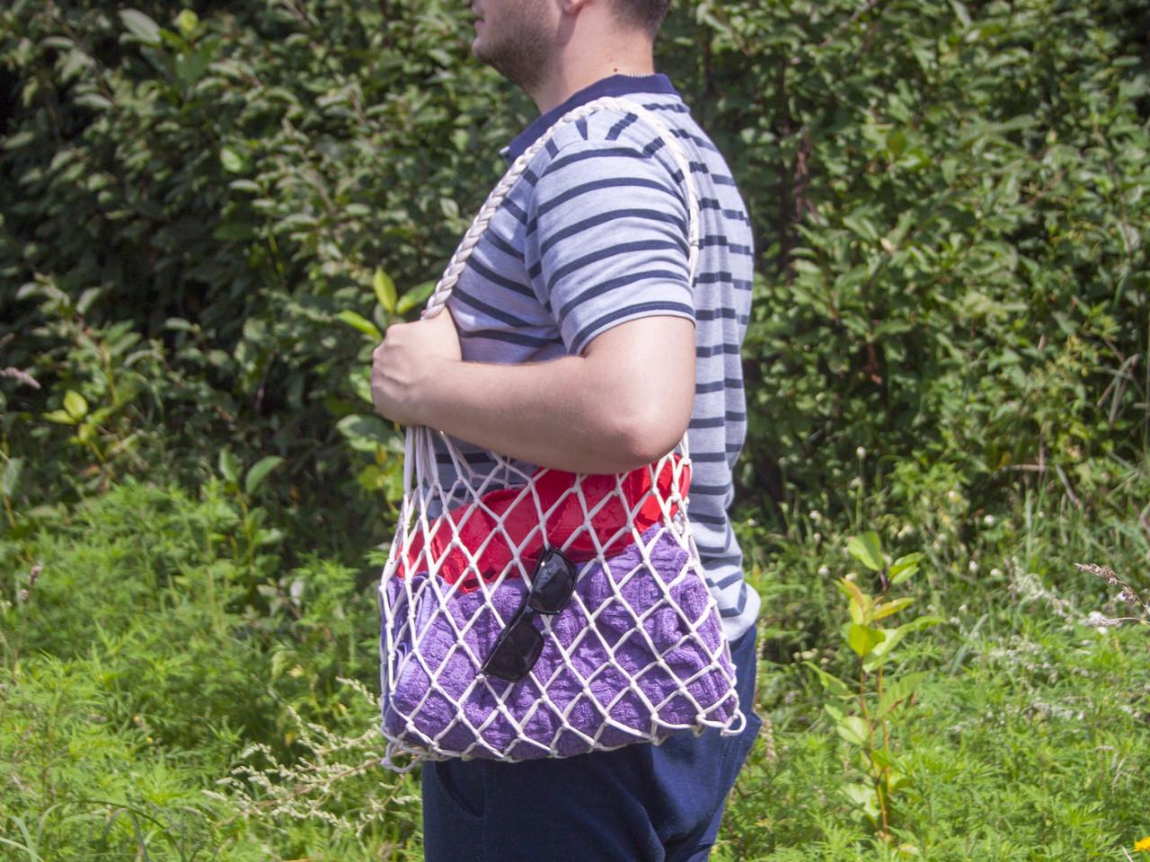 Авоська - Сумка на плечо - Пляжная сумка - Хлопковая сумка