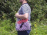 Авоська - Сумка на плечо - Пляжная сумка - Хлопковая сумка, фото 1