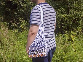 Авоська - Сумка на плечо - Студенческая сумка - Пляжная сумка - Хлопковая сумка
