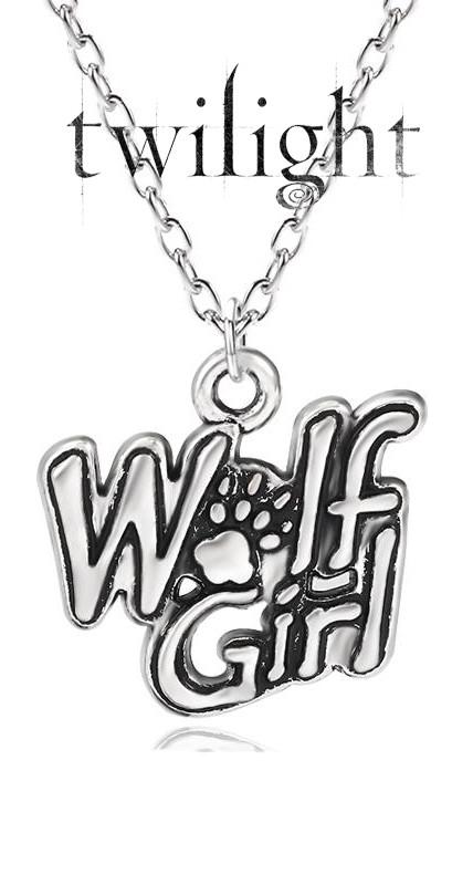 Кулон Wolf Girl Девушка волка Сумерки Twilight