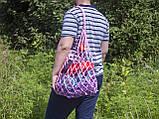 Авоська - Сумка на плечо - Большая сумка - Пляжная сумка - Хлопковая сумка, фото 2