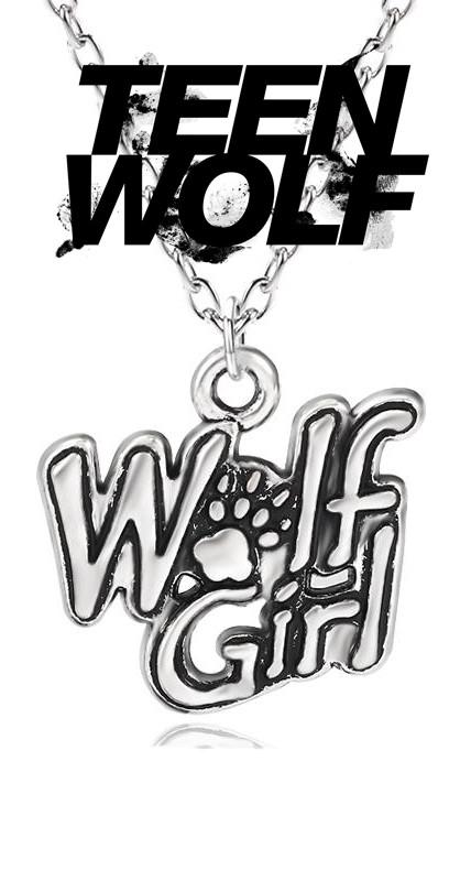 Кулон Wolf Girl Девушка волка Волчонок Teen wolf