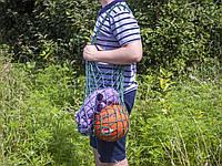 Авоська - Сумка на плечо - Спортивная сумка - Пляжная сумка - Хлопковая сумка, фото 1