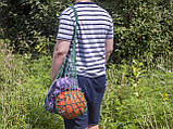 Авоська - Сумка на плечо - Спортивная сумка - Пляжная сумка - Хлопковая сумка, фото 2