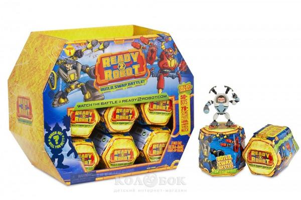 Игровой набор с роботом Ready2Robot Фантастический сюрприз в ассортименте, в дисплее
