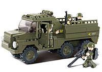 Конструктор SLUBAN M38-B0301 армія, військова техніка, фігурки, 230  дет., кор., 28,5-28,5-5,5 см., фото 1
