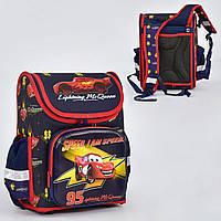 Школьный рюкзак ортопедическая спинка 3 кармана онлайн игры Молния Маквин