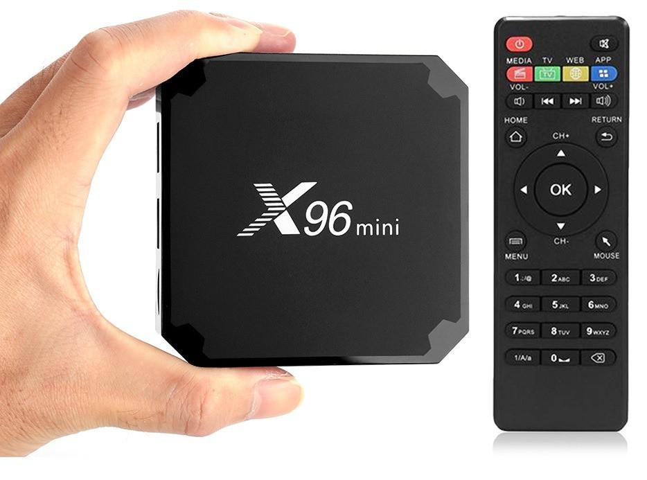 a4dbbfb3a9fe8 1000+каналов X96 mini 2Gb+16Gb оригинал Android 7.1 TV Box лучшая прошивка -