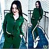 Женский стильный спортивный костюм с лампасами, в расцветках. Г-11-0718, фото 5
