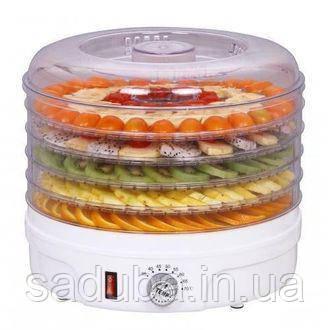Сушка для овощей и фруктов ROTEX Ротекс 5 лотков и 10 литров