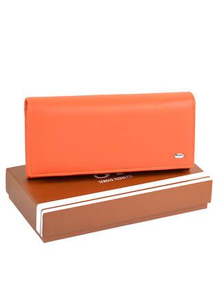 Гаманець ST Жіночий позов-шкіра SERGIO TORRETTI W1-V orange, фото 2