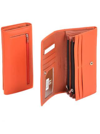Гаманець ST Жіночий позов-шкіра SERGIO TORRETTI W501 orange, фото 2
