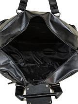 Сумка Мужская Дорожная иск-кожа DR. BOND 8711 black, фото 3