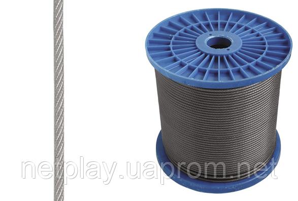 Трос стальной (6х7) 3мм DIN 3055, фото 2