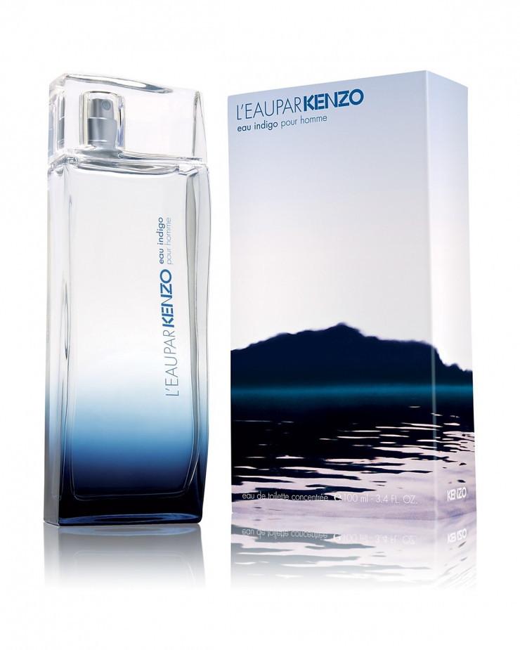 Kenzo L'eau par Kenzo Eau Indigo Pour Homme (Кензо Л'Еау Пар Кензо Еу Индиго Пур Хом), туалетная вода, 100 ml копия
