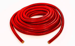 Жгут эластичный трубчатый спортивный FI-4127-11 (латекс, d-6 x 11мм, l-1000см, красный)